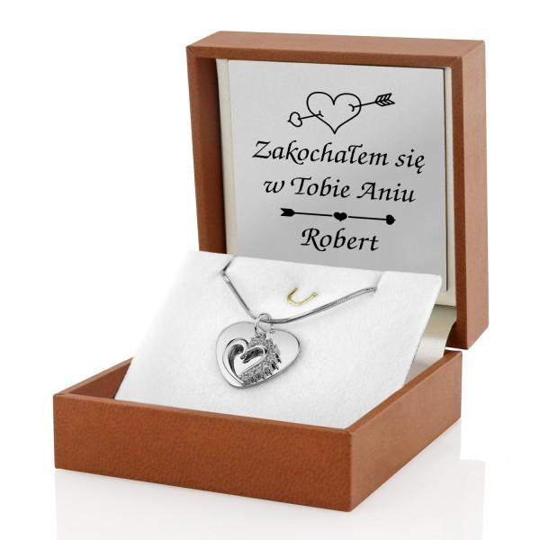 biżuteria srebrna na prezent dla żony