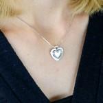 biżuteria z grawerem na prezent na walentynki