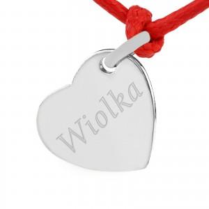 srebrna biżuteria z grawerem na prezent dla żony