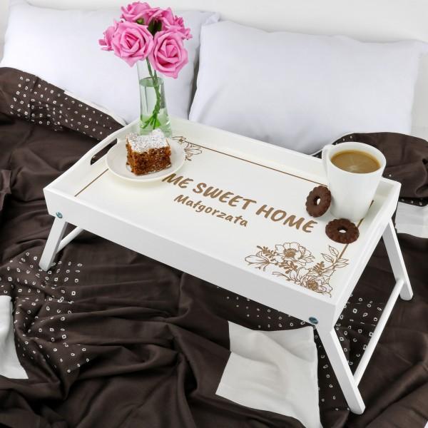stolik śniadaniowy na prezent dla żony