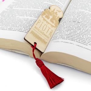 zakładka do książki z grawerem na prezent
