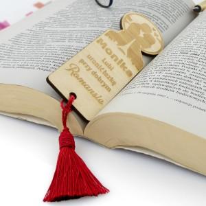 personalizowana zakładka do książki na prezent