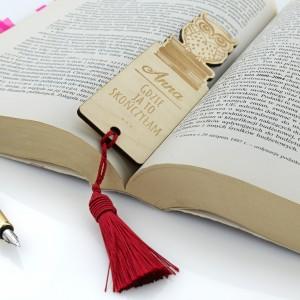 zakładka do książki na oryginalny prezent