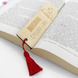 zakładki do książki z grawerem