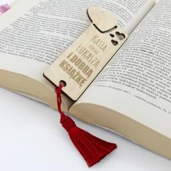 zakładka do książki na prezent na walentynki