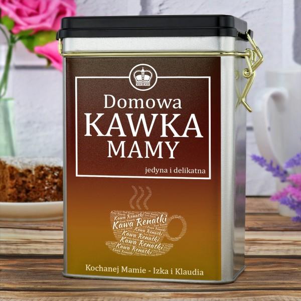 puszka na kawę na prezent dla mamy