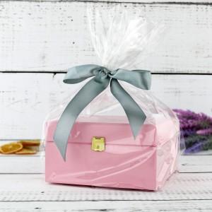 prezent na urodziny dla niej pudełko na herbatę z grawerem