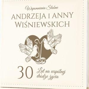 prezent z okazji 30 rocznicy ślubu album z grawerem dedykacji