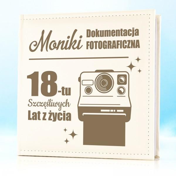 prezent na 18 urodziny album z grawerem dedykacji