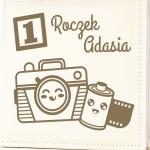 album na zdjęcia z grawerem na prezent dla dziecka na roczek