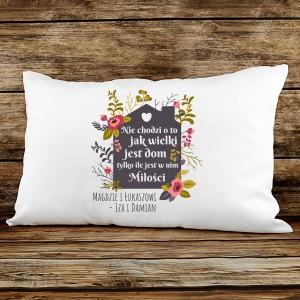 poduszka na prezent dla przyjaciół