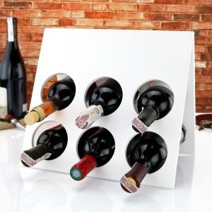 personalizowany stojak na wino