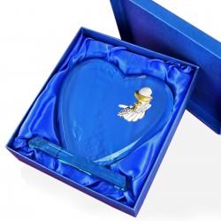 pamiątka komunii świętej statuetka serce z grawerem