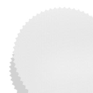 biała szatka na chrzest z nadrukiem imienia