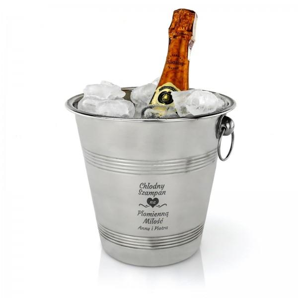 wiaderko na szampana dla pary