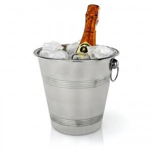 wiaderko na szampana na prezent dla pary na ślub