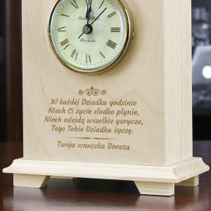 zegar na prezent dla dziadka