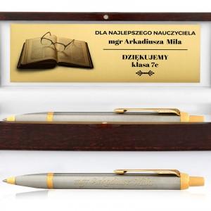 Długopis grawerowany na prezent dla wychowawcy