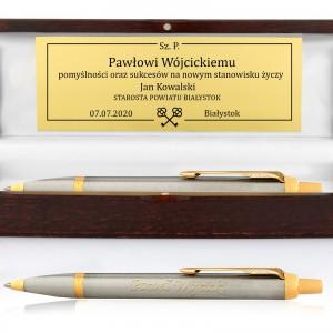 długopis parker na prezent z grawerem