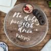 patera na ciasto i owoce z personalizacją na prezent
