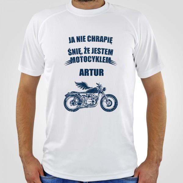 koszulka dla motocyklisty na prezent dla niego