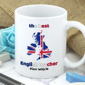 kubek dla nauczyciela angielskiego z personalizacją