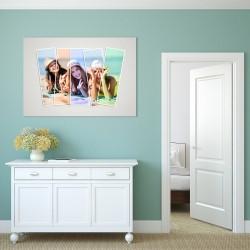 obraz ze zdjęciem na prezent dla przyjaciółki