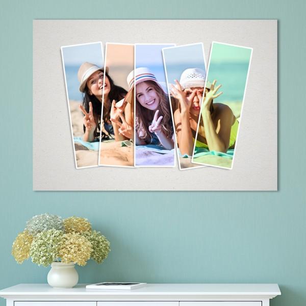 foto obraz efekt collage