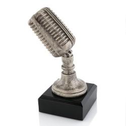 mikrofon statuetka na prezent