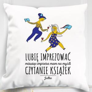 spersonalizowana poduszka na prezent na urodziny dla niej