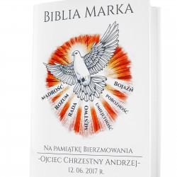 biblia z personalizacją na prezent