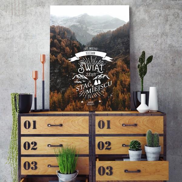 plakat personalizowany krajobraz