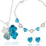 prezent na 18 dla dziewczyny komplet biżuterii