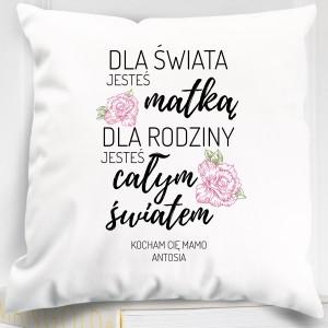 prezent dla mamy poduszka z nadrukiem