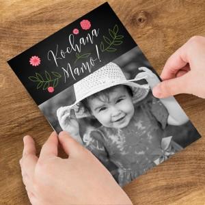 kartka ze zdjęciem dla mamy