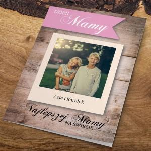 kartka z życzeniami ze zdjęciem dla mamy