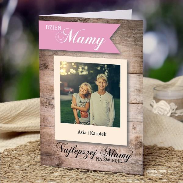 kartka na dzień matki z personalizacją