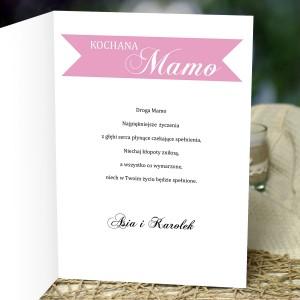 prezent na dzień matki kartka z życzeniami