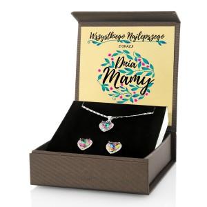 prezent dla mamy biżuteria w pudełku z personalizacją