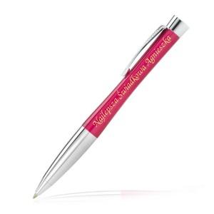 długopis z grawerem na prezent dla świadkowej