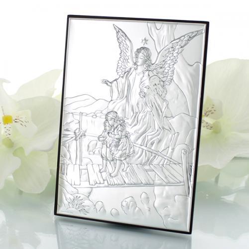 Obrazek Anioł Stróż (5x7cm) podarunek z opcją graweru