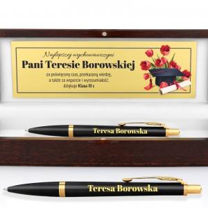 prezent dla nauczyciela długopis z grawerem w etui