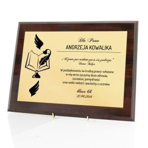dyplom dla nauczyciela na podziękowanie na zakończenie roku
