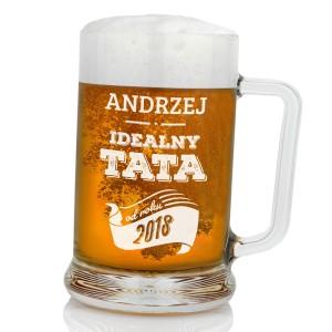 jaki prezent dla taty kufel na piwo