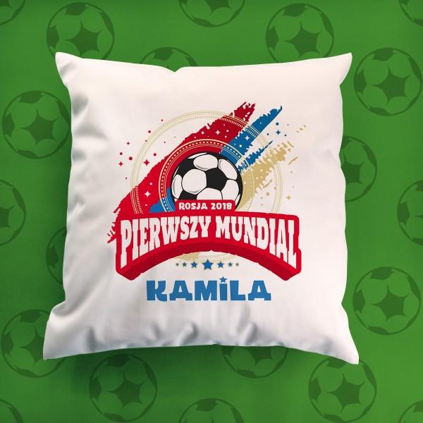 poduszka dla małego kibica piłki nożnej