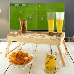 stolik z grawerem na prezent dla kibica
