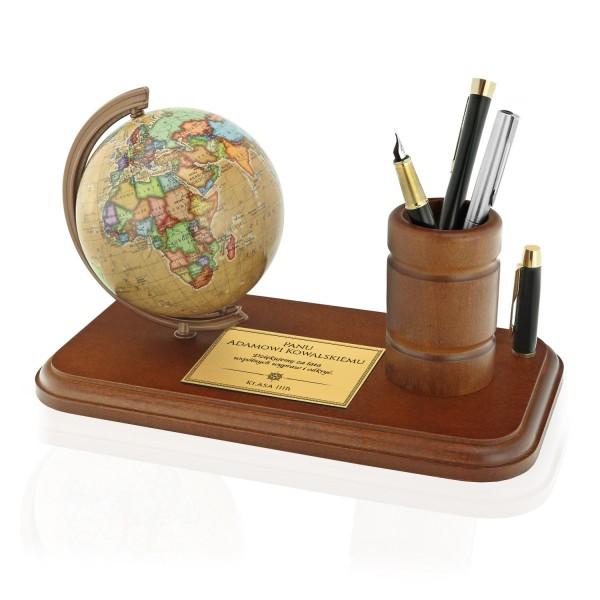 globus z przybornikiem dla nauczyciela