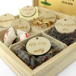szkatułka z pamiątkami na prezent dla wychowawczyni