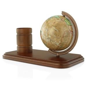 personalizowany globus z przybornikiem