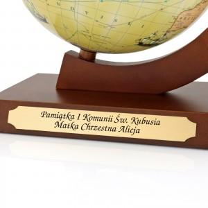 personalizowany globus - trasami odkrywców